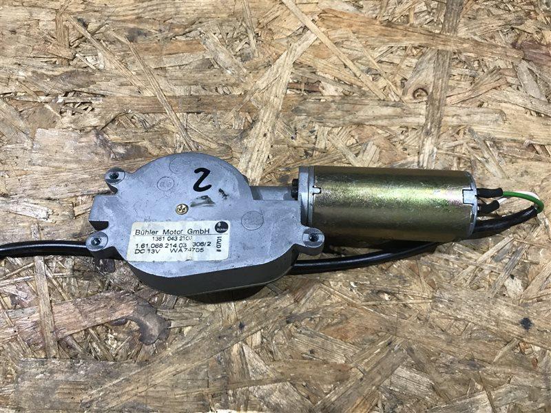 Моторчик задней шторки Bmw 7-Series E65 N62B48B 2006