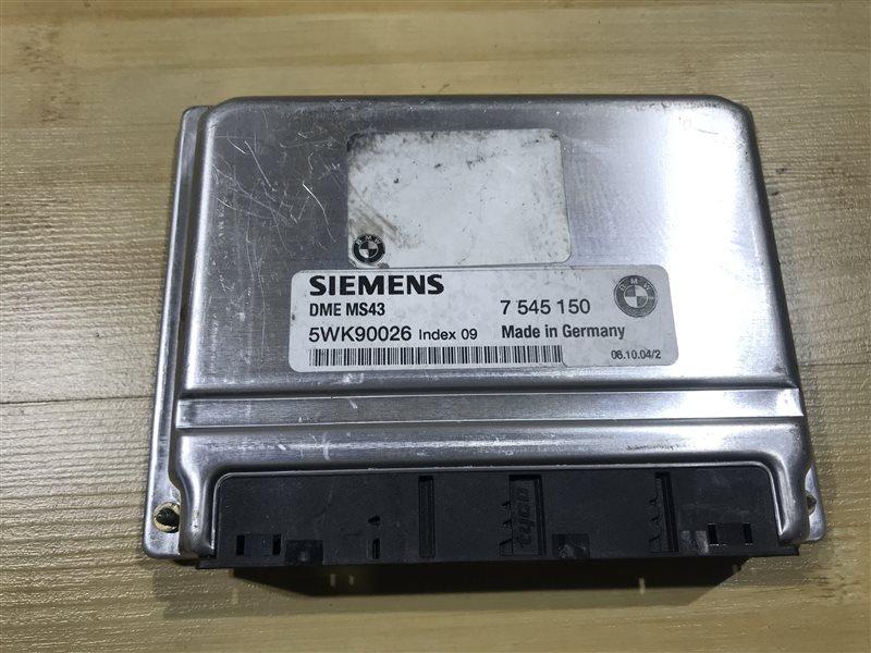 Блок управления двс Bmw X5 E53 M54B30 2004
