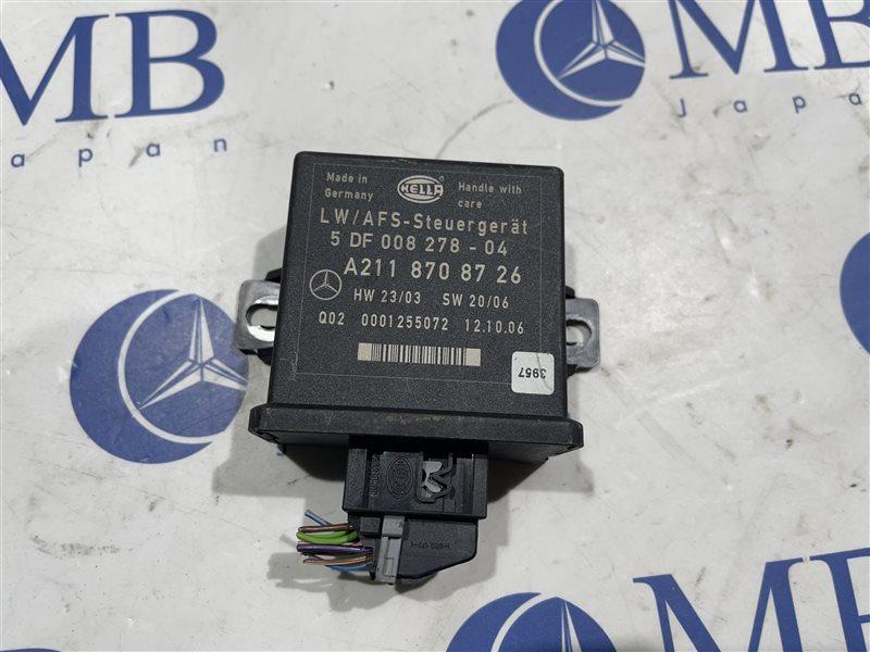 Блок регулировки угла наклона фар Mercedes-Benz Cls-Class W219 W219 C219 272.964 2006