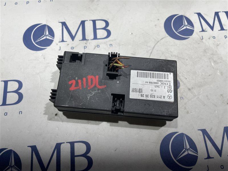 Блок управления обогрева сидений Mercedes-Benz E-Class W211 W211 112.949 2002