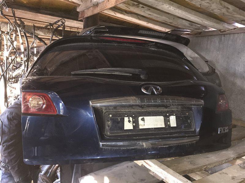 Дверь 5-я дверь багажника Infiniti Fx35 50 2008