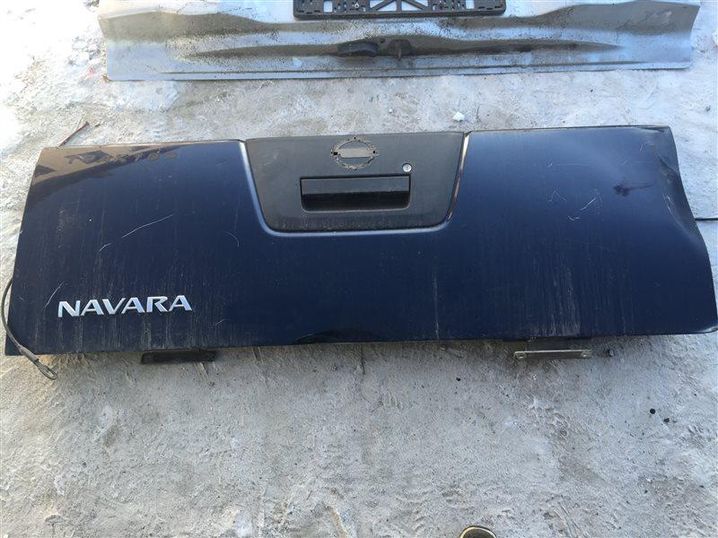 Дверь 5-я дверь багажника Nissan Navara 2008 нижняя