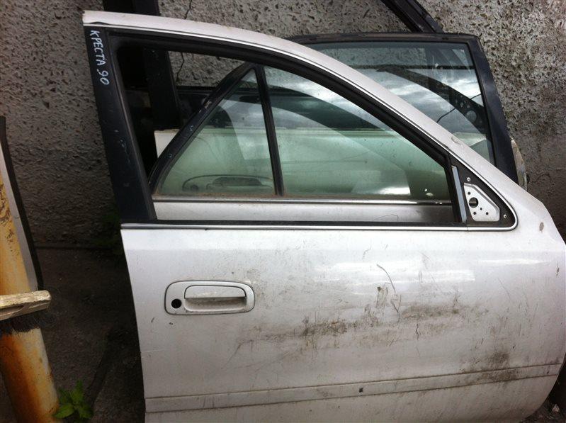 Дверь Toyota Cresta 90 1996 передняя правая