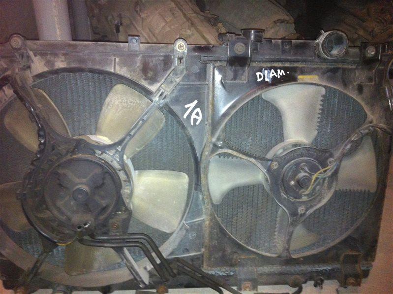 Радиатор двс Mitsubishi Diamante 31 1997