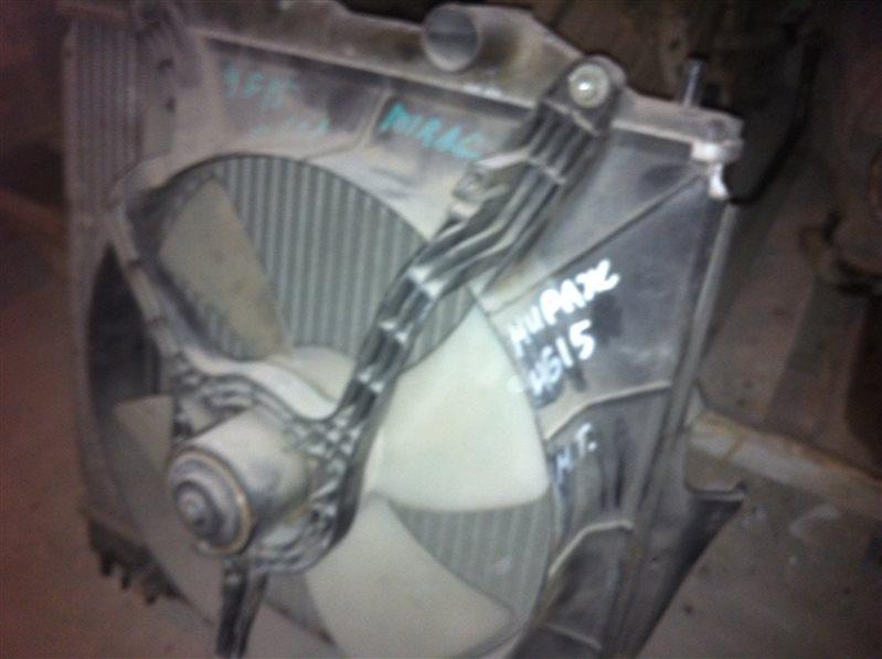 Радиатор двс Mitsubishi Mirage 4G15