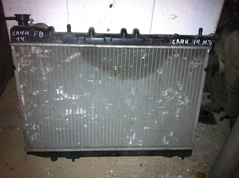 Радиатор двс Nissan Sunny FNB14 1998