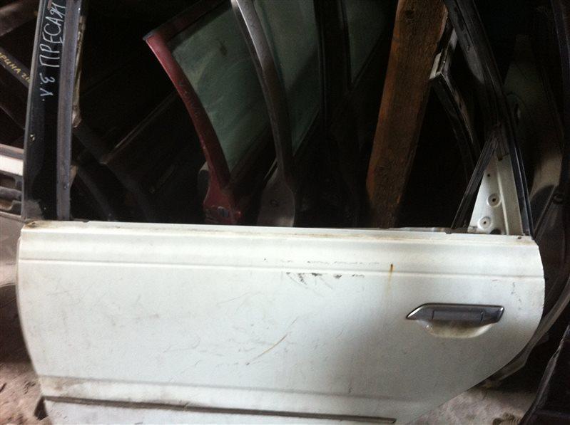 Дверь Nissan Presage 30 2000 задняя левая