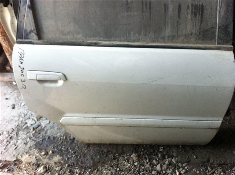 Дверь Mitsubishi Grandis 95 2001 задняя правая