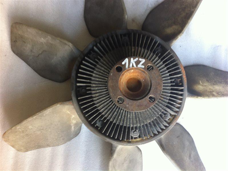Вентилятор с вязкостной муфтой Toyota Land Cruiser Prado 95 1KZ 2000