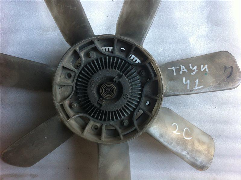 Вентилятор с вязкостной муфтой Toyota Town Ace 41 2C 1998