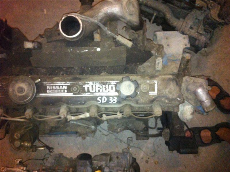 Двигатель Nissan Patrol SD33T 1985