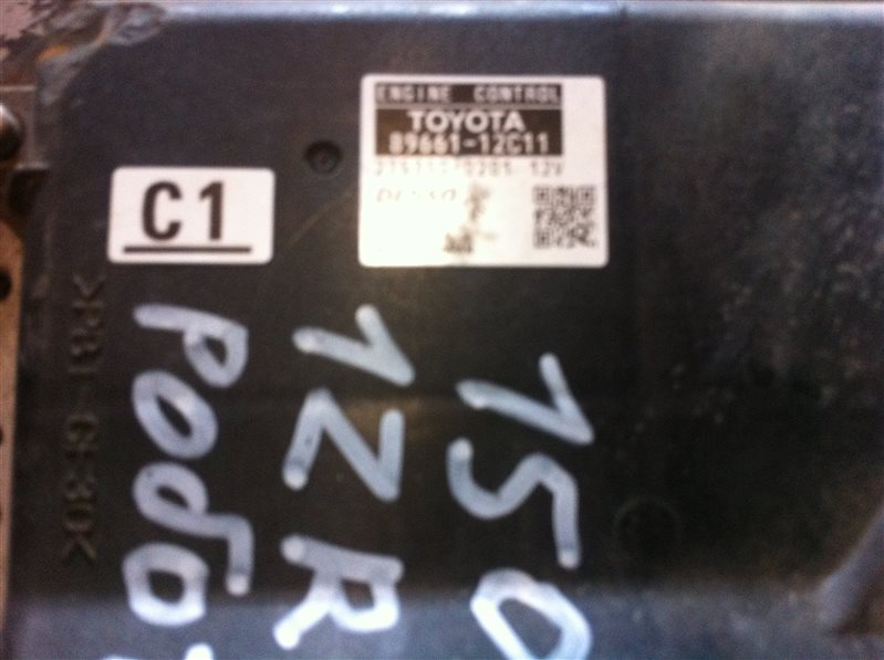 Бортовой компьютер блок управления двс Toyota Corolla 150 1ZR