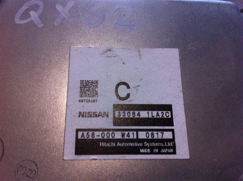 Блок управления раздаточной коробкой Infiniti Qx56 62