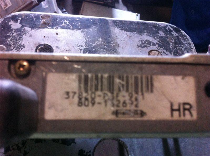 Бортовой компьютер блок управления двс Honda Crv