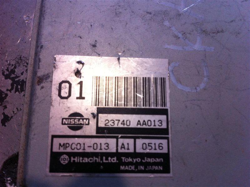 Бортовой компьютер блок управления двс Nissan Skyline