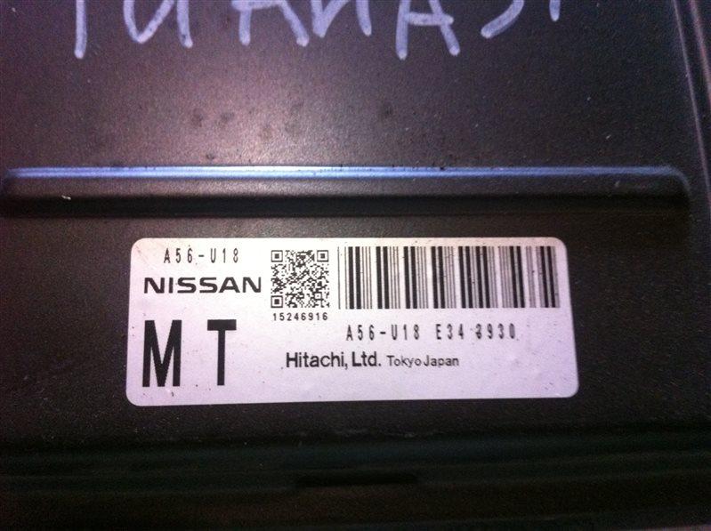 Бортовой компьютер блок управления двс Nissan Teana 31
