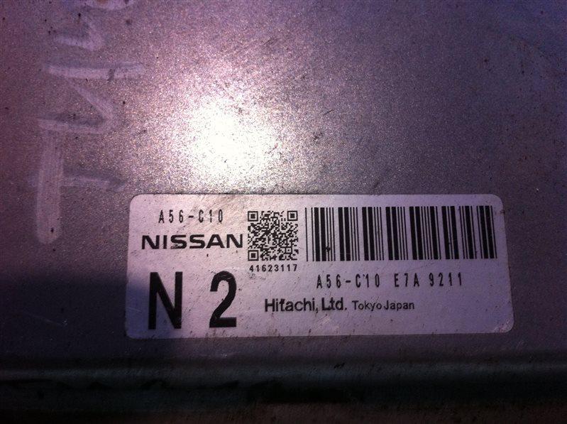 Бортовой компьютер блок управления двс Nissan Teana 32
