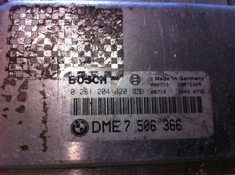 Бортовой компьютер блок управления двс Bmw X5 53