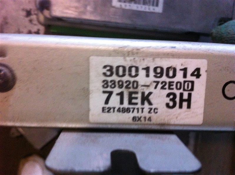 Бортовой компьютер блок управления двс Suzuki G16A