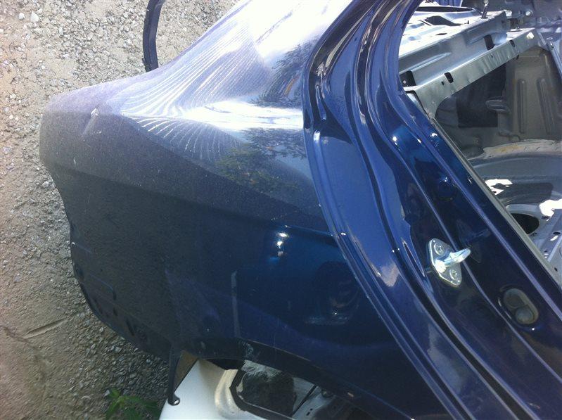 Задняя часть Honda Accord CL7 2006