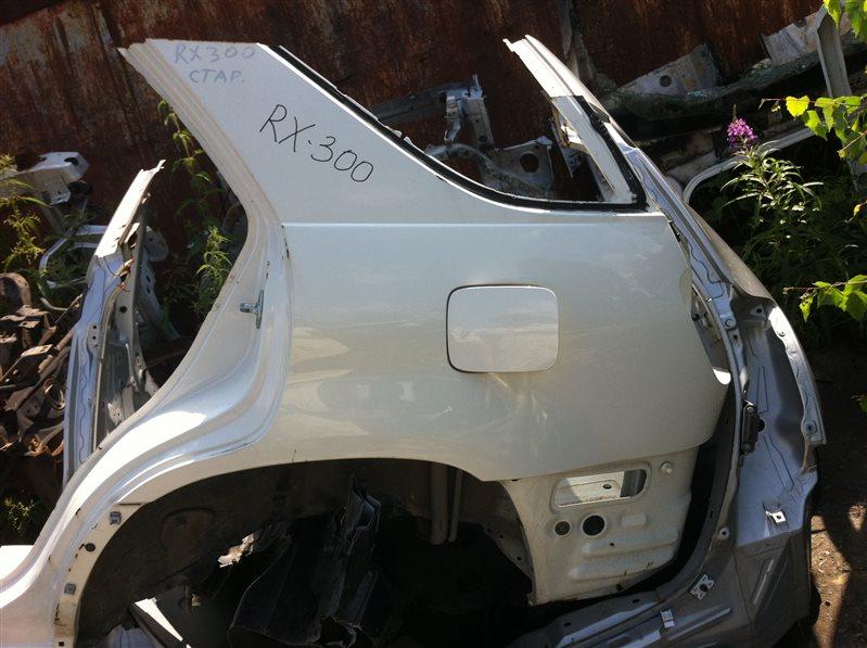 Задняя часть Lexus Rx300 2000