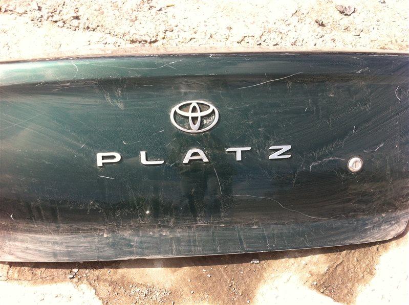 Крышка багажника Toyota Platz 10 2000