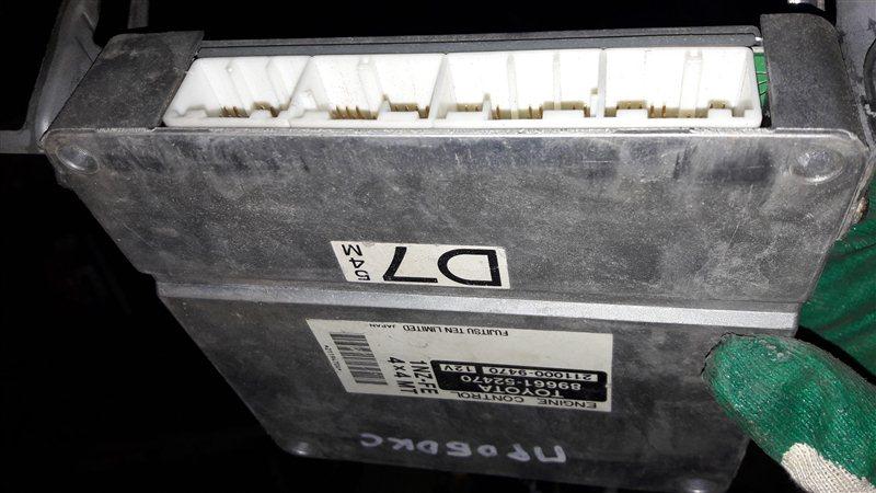 Блок управления двс, бортовой компьютер Toyota Probox NCP55 1NZFE 2003