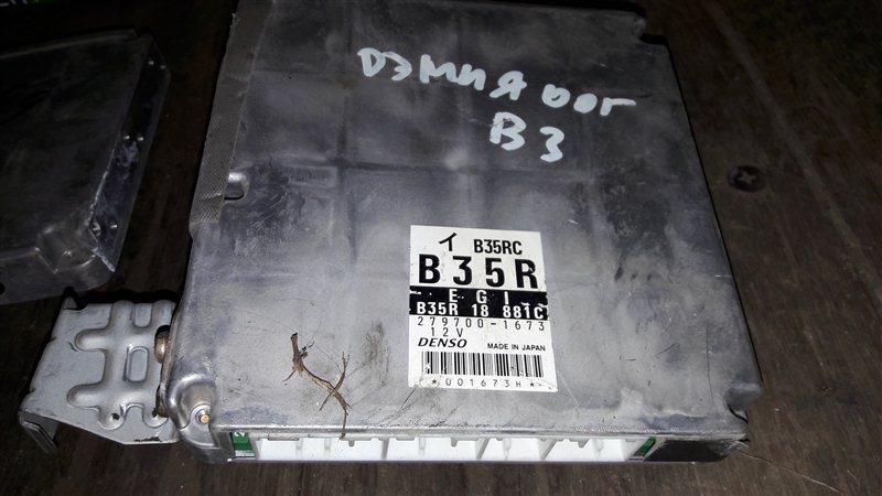 Блок управления двс, бортовой компьютер Mazda Demio DW3W B3 2001