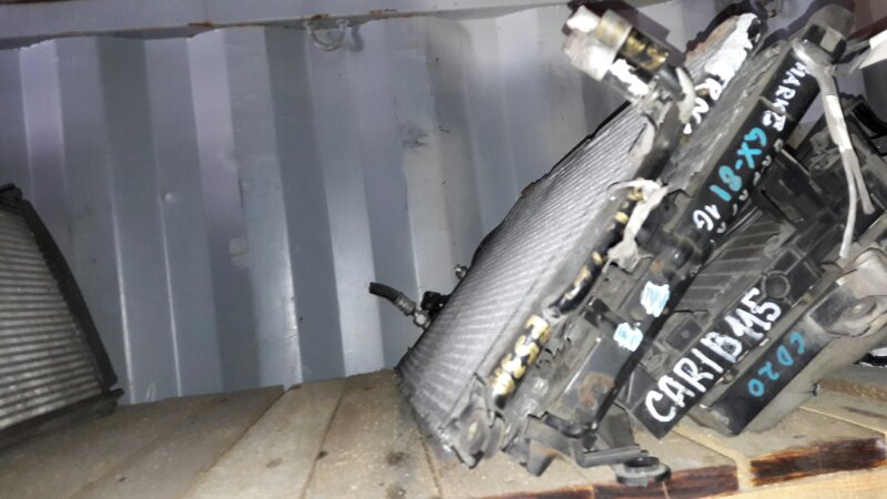 Радиатор кондиционера Mitsubishi Eterna E53A 4G63 1996