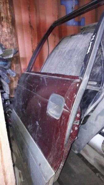 Дверь Mitsubishi Chariot задняя левая