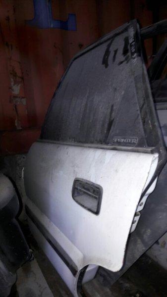 Дверь Toyota Corolla Sprinter AE91 5AFE 1991 задняя левая