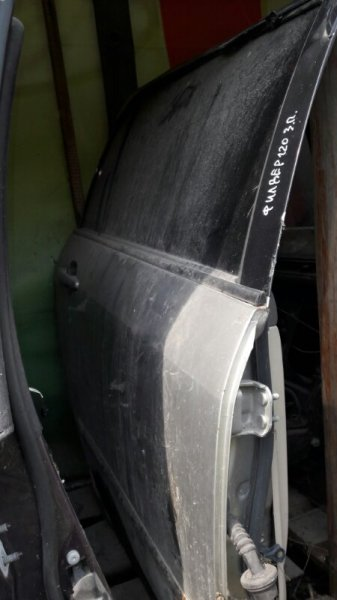 Дверь Toyota Corolla Fielder NZE121, NZE122, ZZE121, ZZE122 1NZFE, 1ZZFE 2001 задняя правая