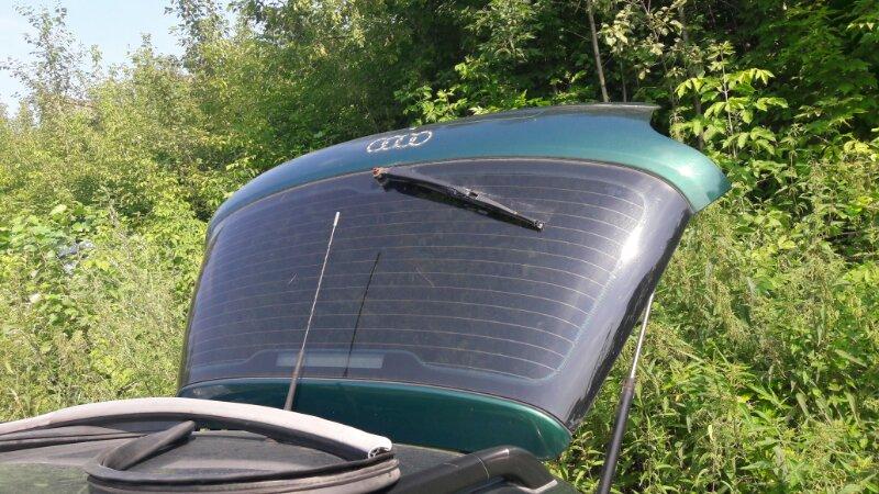 Дверь 5-я дверь багажника Audi A4 B5 УНИВЕРСАЛ ARG 1.8 НЕ ТУРБО 2000