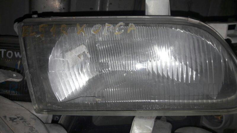 Фара Toyota Corsa , Tercel EL51 4EFE 1995 передняя правая