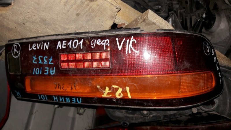 Стоп Toyota Levin AE101 AE100 1993 задний правый