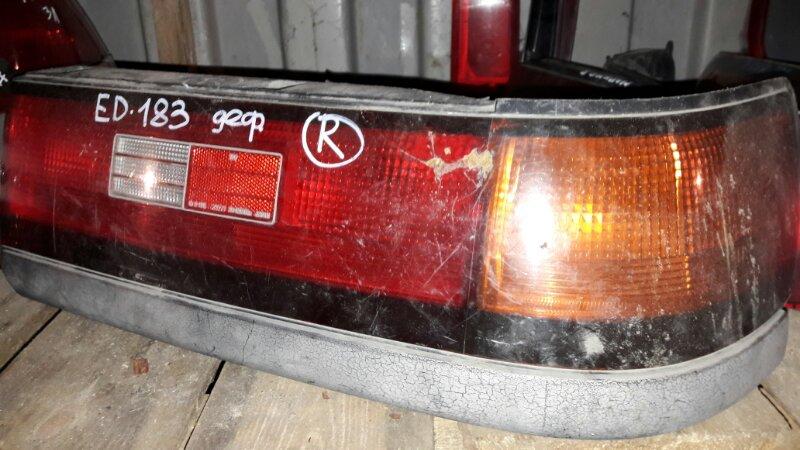 Стоп Toyota Carina Ed 182 183 4AFE 1992 задний правый