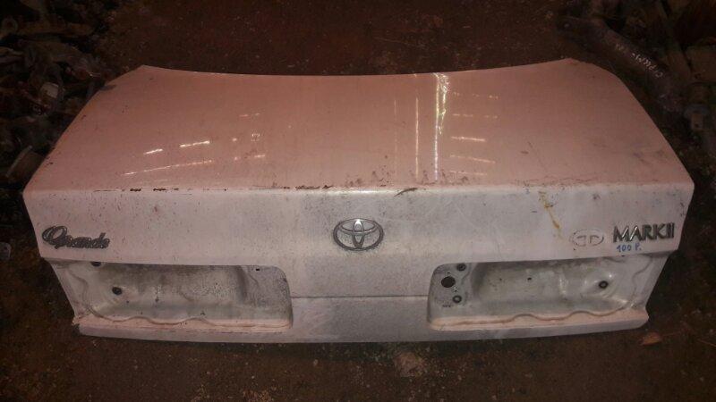 Крышка багажника Toyota Mark Ii JZX105, JZX100, GX100 1JZ, 1GFE 1998 задняя