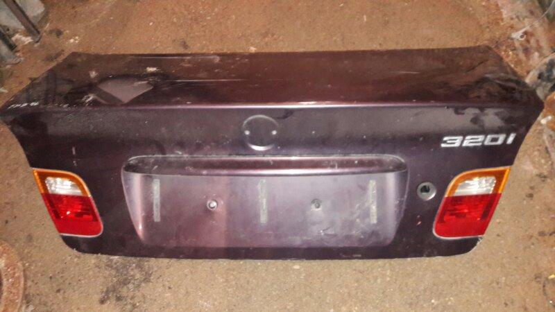 Крышка багажника Bmw 318I E46 M52 N42 2003 задняя
