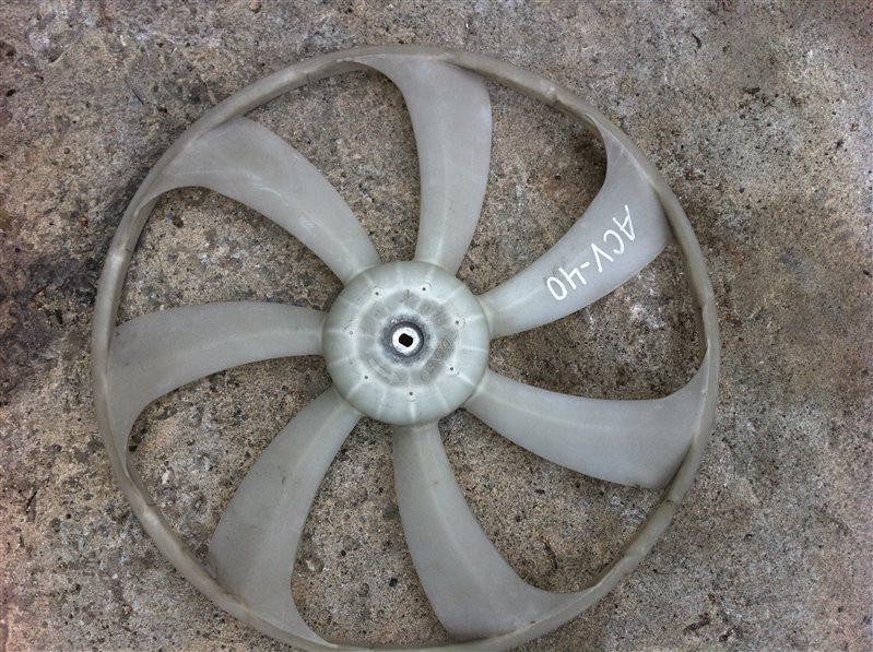 Крыльчатка моторчика радиатора Toyota Camry ACV40
