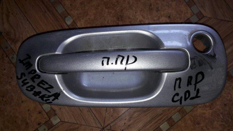 Ручка двери внешняя Subaru Impreza GD2, GDC, GDD, GD3 EJ15 2006 передняя