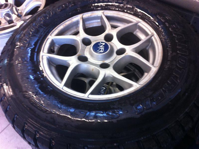 Комплект из 4-х колёс R16 / 275 / 70 DUNLOP GRANDTREK SJ5 5x150 лит.