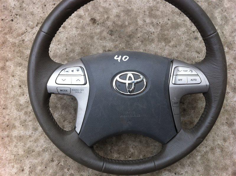 Руль Toyota Camry ACV40