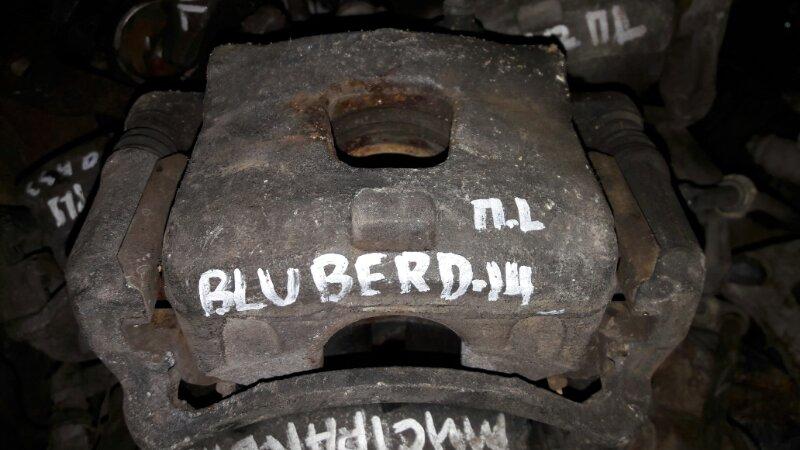 Суппорт Nissan Bluebird EU14, ENU14, QU14 SR18DE 1997 передний левый