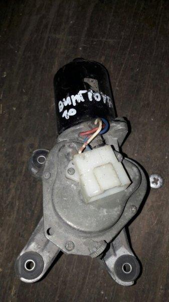 Мотор дворников двигатель стеклоочистителя Nissan Wingroad Y10 GA15DE 1998 передний