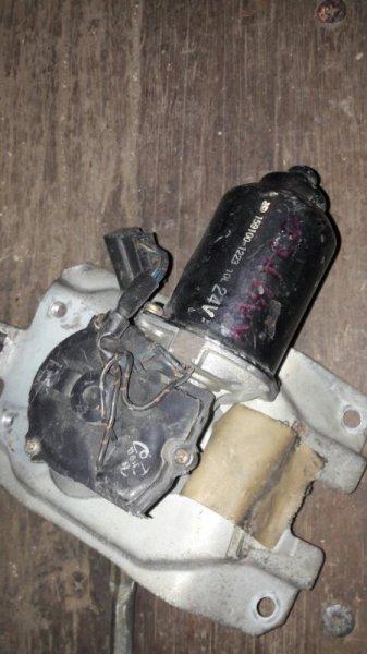 Мотор дворников двигатель стеклоочистителя Mitsubishi Canter F435 4D32 1990 передний