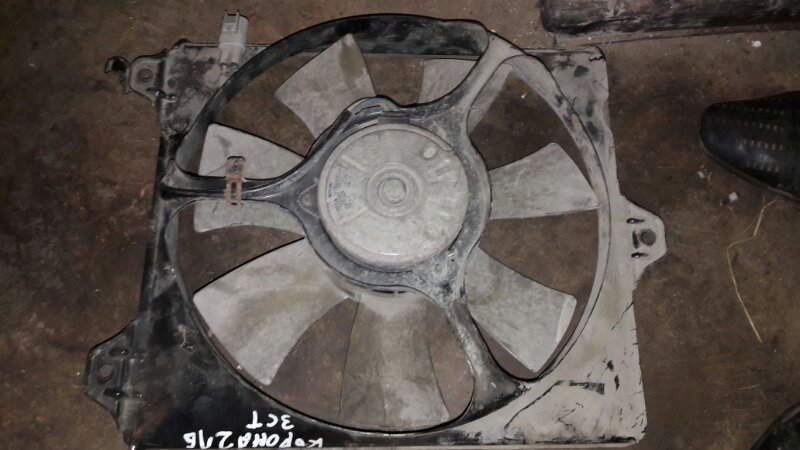 Вентилятор радиатора Toyota Corona Premio CT216, ST215 3CT, 3SFE 2001