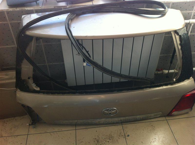Дверь 5-я дверь багажника Toyota Land Cruiser 200 1VD задняя верхняя