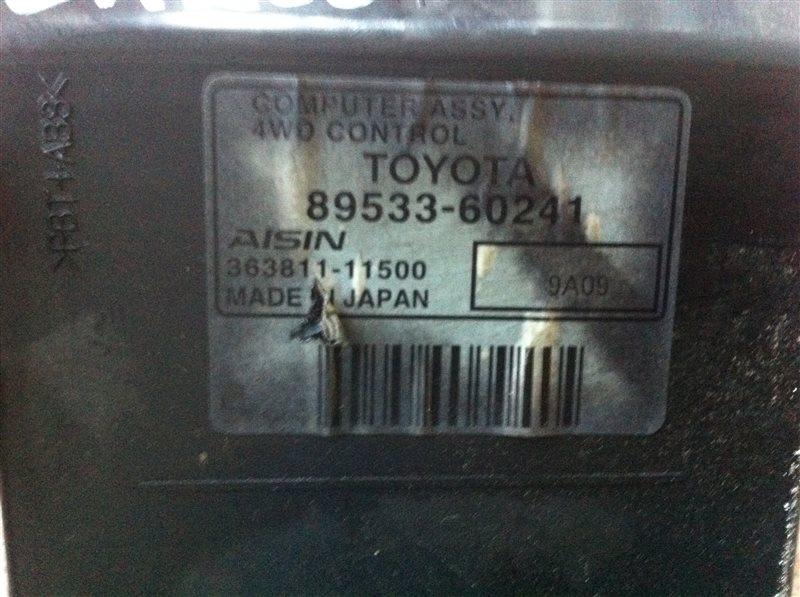 Блок управления полным приводом Toyota Land Cruiser 200 1VD