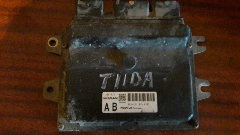 Блок управления двс, бортовой компьютер Nissan Tiida Latio SC11 HR15 2005