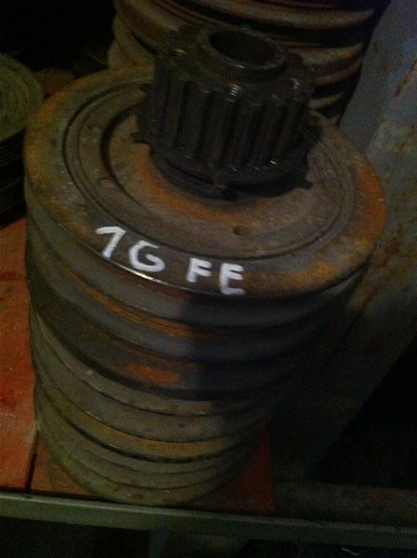 Шкив коленвала Toyota 1G FE